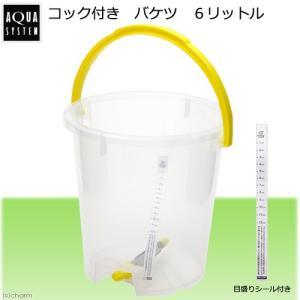 コック付き バケツ 6リットル 関東当日便|chanet