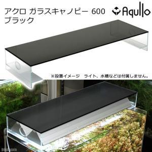 アクロ ガラスキャノピー 600 ブラック TRIANGLE OVAL オプションパーツ 関東当日便|chanet