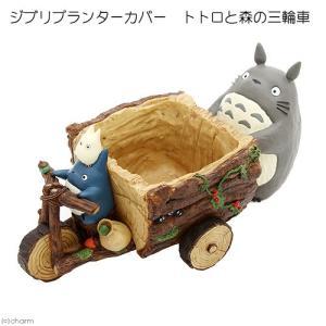 ジブリプランターカバー トトロと森の三輪車 関東当日便 chanet