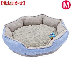 マルカン クマさんの接触冷感ベッド M グレー 関東当日便|chanet