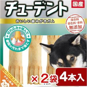 ハーツ チューデント 小型〜中型犬用 4本 2袋入り chanet