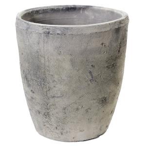アンティークポット 直径21×23cm 黒 モスポット トール バラ オリーブ 鉢|チャーム charm PayPayモール店