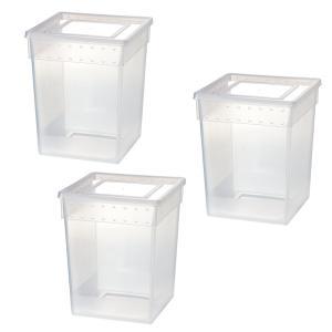 メーカー:Leaf Corp 品番:H1 昆虫を小分けにするときに!一時的な幼虫飼育にも!幼虫・成虫...