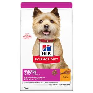 サイエンスダイエット 小型犬用  シニアアドバンスド 3kg 正規品 ドッグフード ヒルズ 関東当日便|chanet
