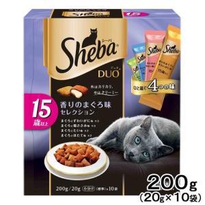 シーバデュオ 15歳以上 香りのまぐろ味セレクション 200g 関東当日便