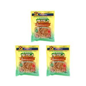 ドギーマン 犬用 無添加良品 アキレススティック 100g ×3袋 国産 おやつ 無添加
