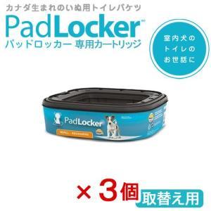 パッドロッカー(Pad Locker) 専用カートリッジ 取替え用 3個 関東当日便|chanet