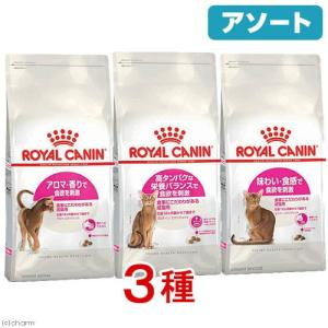 アソート ロイヤルカナン 食のこだわりがある猫セット (エクシジェント 400g) 3種3袋 関東当日便