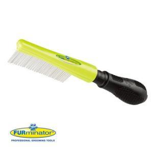 メーカー:ライトハウス 長毛、巻き毛、シルキー毛、ワイヤー毛に最適なワイドコーム! ファーミネーター...