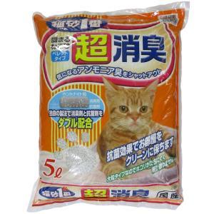 猫砂1番 超消臭 5L ベントナイト ペレットタイプ 国産