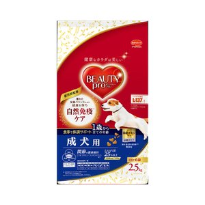 ビューティープロ ドッグ 成犬用 1歳から 2.5kg(小分け6袋)