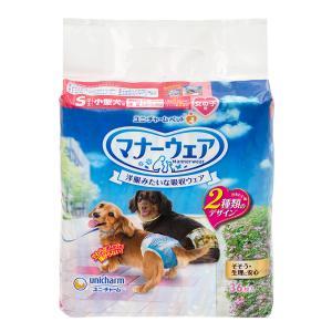 ユニチャーム マナーウェア 女の子用 Sサイズ チェック 36枚入 関東当日便|chanet
