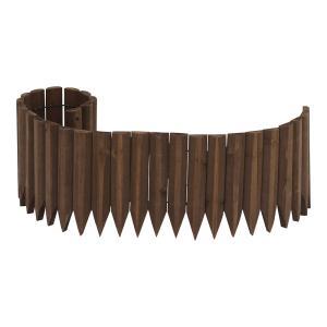 ガーデンエッジ ブラウン 20×100cm 花壇 寄せ植え 柵