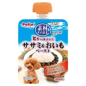 ペティオ 素材そのまま とろっと煮込んだ ササミ&おいも ペースト For Dog 90g 関東当日便|chanet