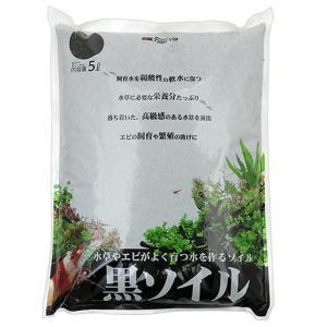 カミハタ 黒ソイル 5L 栄養系ソイル