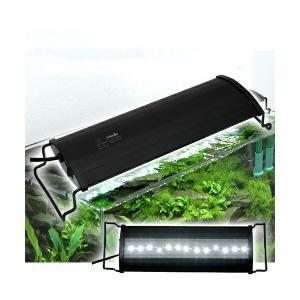 アクロ OVALブラック LED 300 1850lm BRIGHT Aqullo Series 30cm水槽用照明 ライト 熱帯魚 水草 関東当日便|chanet