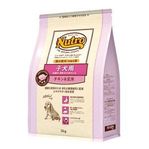 ニュートロ ナチュラルチョイス 子犬用 超小型犬〜中型犬用 チキン&玄米 3kg プレミアムチキン 関東当日便|chanet