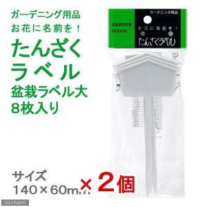 たんざくラベル 盆栽ラベル 大 8枚入り 2個 関東当日便 chanet