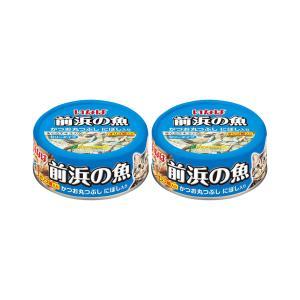 お買得セット いなば 前浜の魚 かつお丸つぶし にぼし入り 115g キャットフード 2個入 関東当日便 chanet