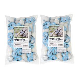 昆虫ゼリー プロゼリー(16g 100個入り)×2袋セット カブトムシ・クワガタ用 高タンパク!硬め...