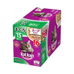 ボール売り カルカン パウチ スープ仕立て 15歳から まぐろ 70g 1ボール16袋入り キャットフード カルカン 超高齢猫用 関東当日便|chanet