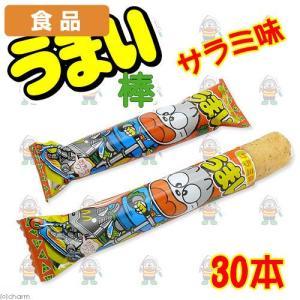 食品 うまい棒 サラミ味 30本 関東当日便|chanet