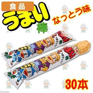 食品 うまい棒 納豆味 30本 関東当日便|chanet