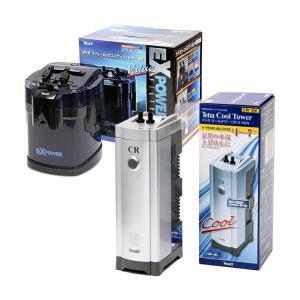 □テトラ クールタワー CR−3 NEW + バリューエックスパワーフィルター VX−60 沖縄別途...