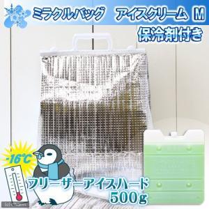 保冷剤付き ミラクルバッグ アイスクリーム M 35−12 関東当日便 chanet