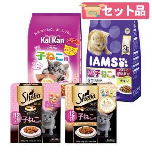 マース 子猫ドライセット アイムス 550g + カルカン 1.6kg + シーバデュオ 2種各1個 お一人様10点限り 関東当日便