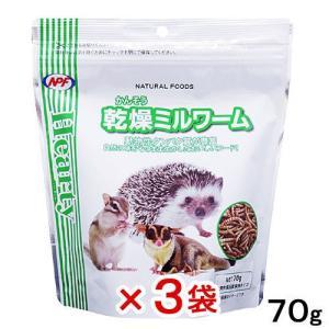 NPF ハーティー 乾燥ミルワーム 70g 3袋入り 関東当日便|chanet