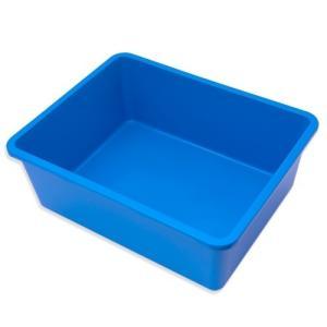 鈴木製作所 角型タライ フラット 青 ビオトープ めだか お一人様6点限り 関東当日便