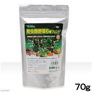 ビバリア 爬虫類野菜6種ブレンド 70g 爬虫類 餌 関東当日便|chanet