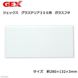 GEX グラステリア300用 ガラスフタ(幅28×奥行き13.2cm、厚さ3mm) 関東当日便