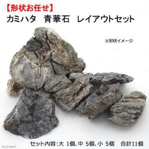 カミハタ 青華石 レイアウトセット 形状お任せ 関東当日便|chanet