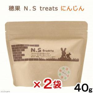 穂果 N.S treats にんじん 40g 2袋入り 関東当日便