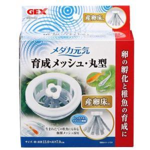 GEX メダカ元気 育成ネット 丸型 産卵床付 関東当日便