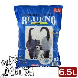 猫砂 ネコの紙砂 ブルーノ 6.5L 猫砂 紙 固まる 燃やせる お一人様6点限り
