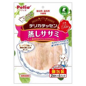 ペティオ デリカテッセン プチ 蒸しササミ 2切れ×4パック