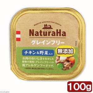 サンライズ ナチュラハ グレインフリー チキン&野菜入り 100g 関東当日便 chanet