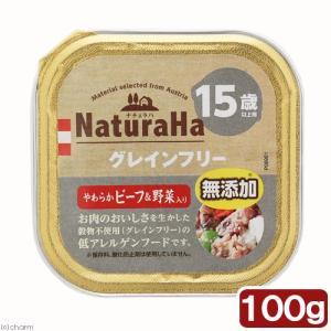 サンライズ ナチュラハ グレインフリー やわらかビーフ&野菜入り 15歳以上 100g 関東当日便 chanet