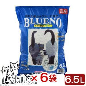 猫砂 ネコの紙砂 ブルーノ 6.5L 6袋入り 猫砂 紙 固まる 燃やせる お一人様1点限り