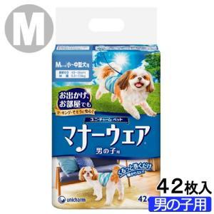 マナーウェア 男の子用 Mサイズ 小〜中型犬用 42枚 関東当日便|chanet