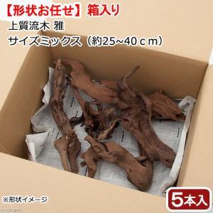 形状お任せ 上質流木 雅 サイズミックス(約25〜40cm) 5本セット 関東当日便|chanet