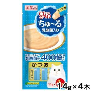 いなば ちゅ〜る 乳酸菌入り かつお 14g×4本 関東当日便 chanet