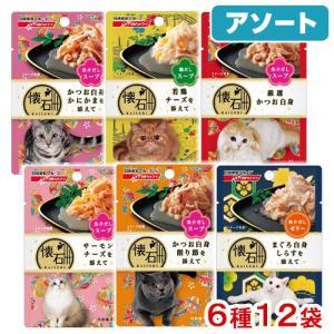 アソート 日清ペットフード 懐石パウチ 6種12袋 Bセット 関東当日便|chanet