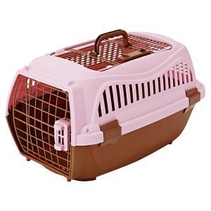 ペティオ 2ドア スマイルキャリー ピンク M