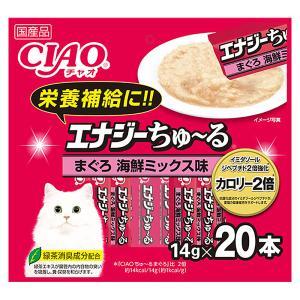 いなば ちゅ〜る エナジーちゅ〜る まぐろ 海鮮ミックス味 14g×20本 関東当日便|chanet