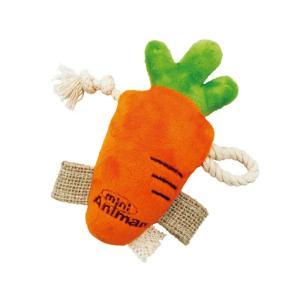 ミニアニマン ウサギのおもちゃ なかよしにんじん 関東当日便|chanet