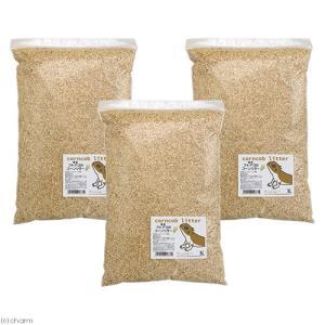 国産 フトアゴのコーンリター 9L(3L×3) 天然 消臭 敷材 床材 トイレ砂